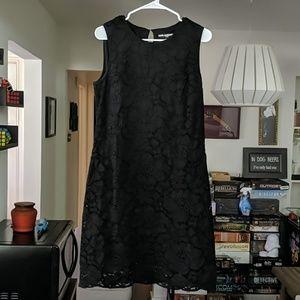 Karl Lagerfield Paris Black Lace Dress